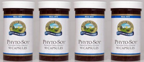 """PHYTO-SOY Phytonutrient Dietary Supplement, 90 Capsules, KOSHER, """"FAST SHIPPING"""" 4 PACK SAVING! Nature's Sunshine,"""