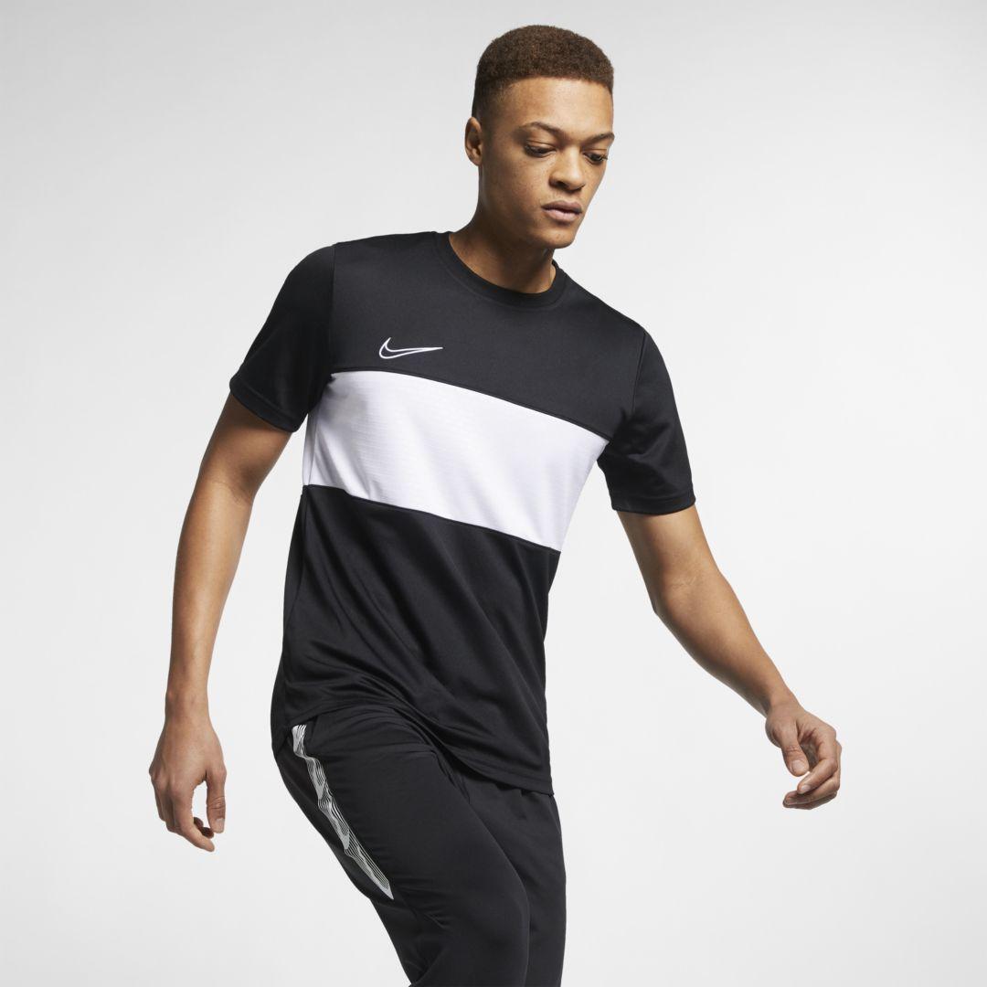 Nike Dri FIT Academy Men's Soccer Short Sleeve Top Size XL