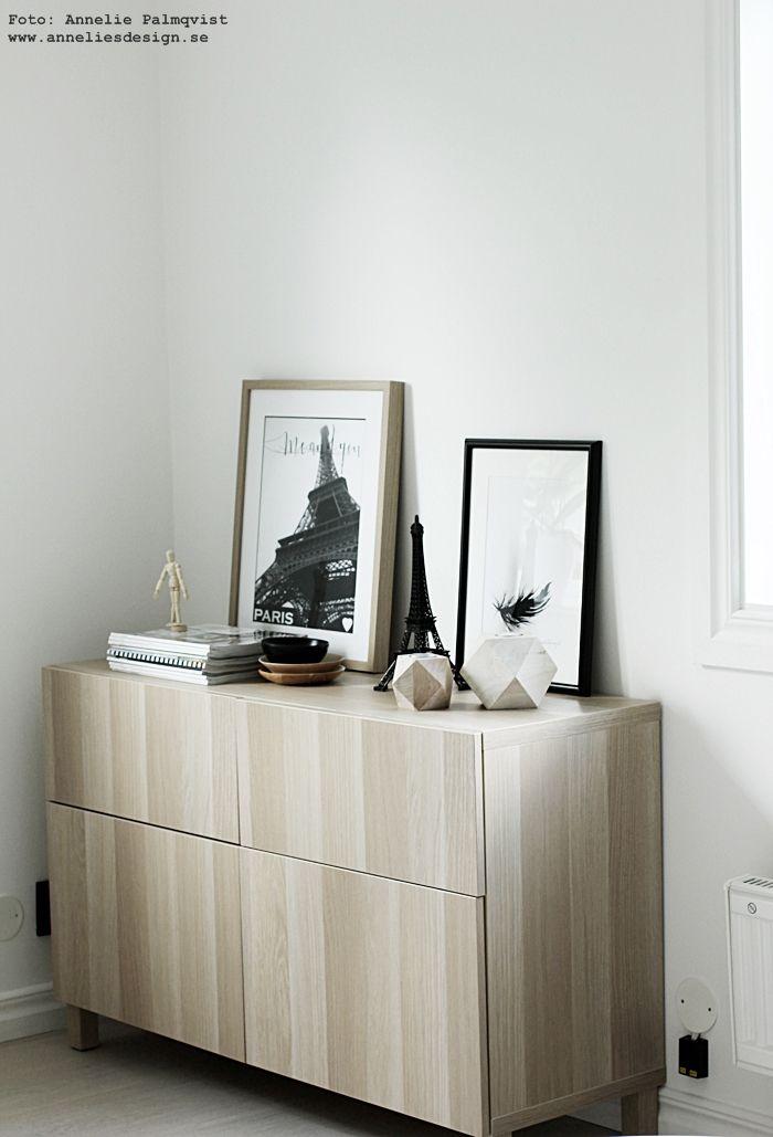 svart, vitt & rött: IKEA Bestå