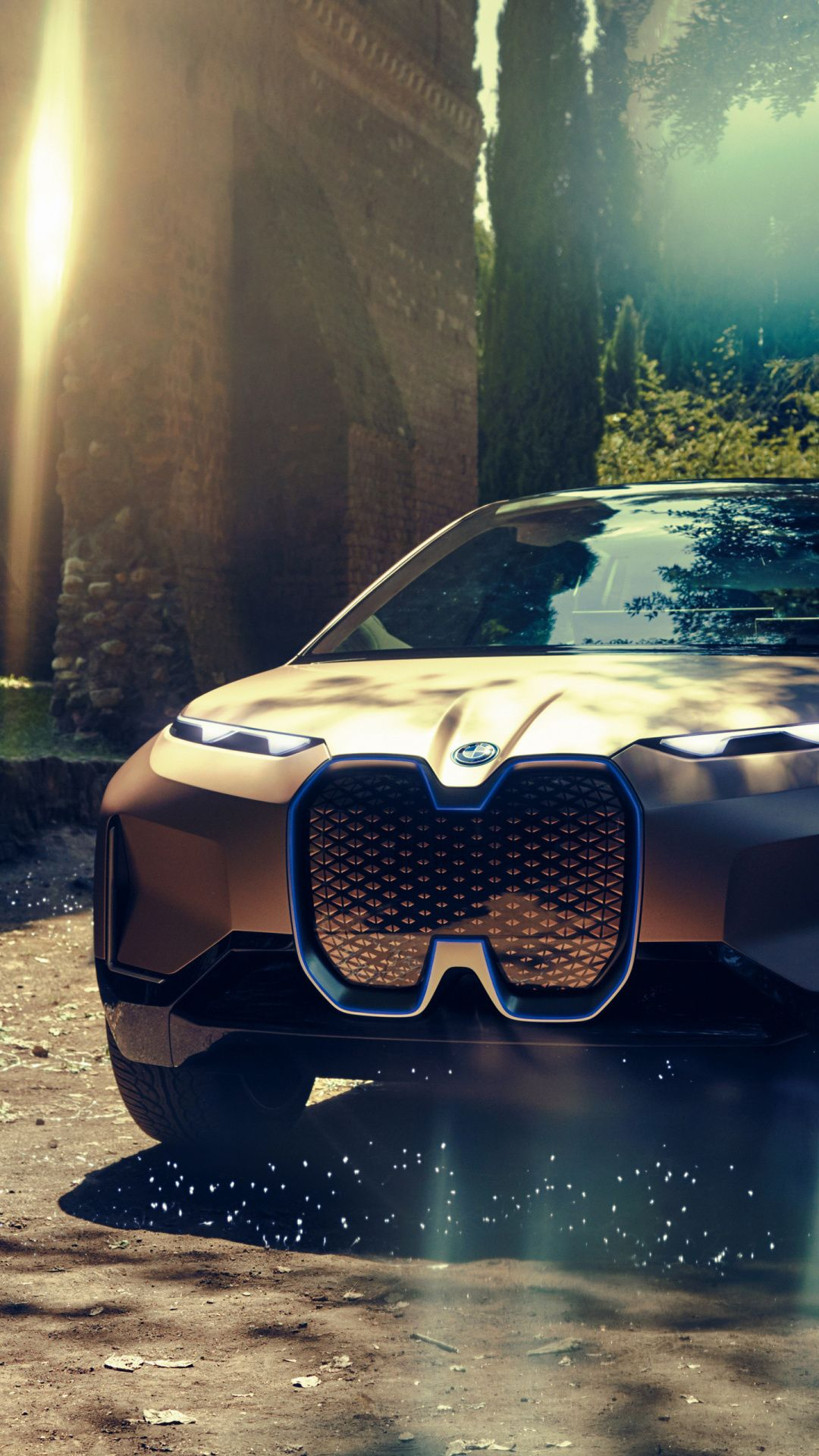 BMW Vision Next 100 Concept Car 1080x1920 Wallpaper