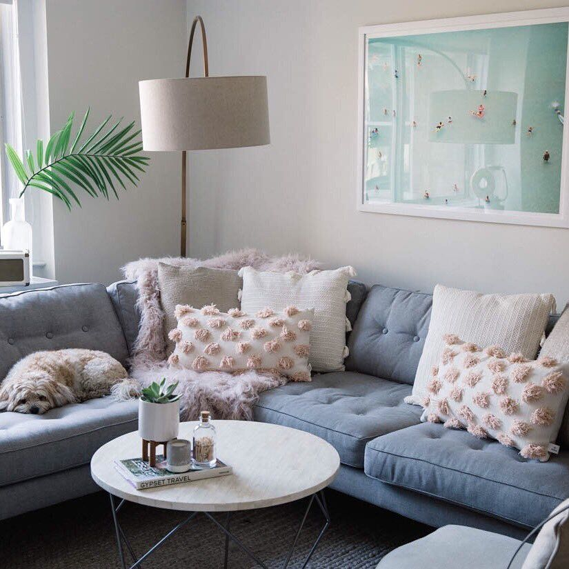"""2,056 Likes, 27 Comments - Kendall Kremer (@styledsnapshots) on Instagram: """"Sharing our living room update for summer over on the blog (link in bio) with some favorite pieces…"""""""