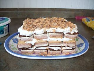 Ice Cream Sandwich cake... this might be Father's Day dessert :)