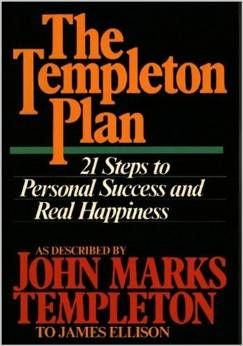 Templeton Plan 21 Steps To Personal Success And Real Happiness Personal Success How To Plan Success