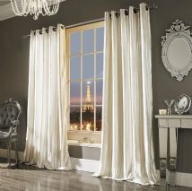 Kylie Minogue At Home Iliana Curtains Available In Oyster