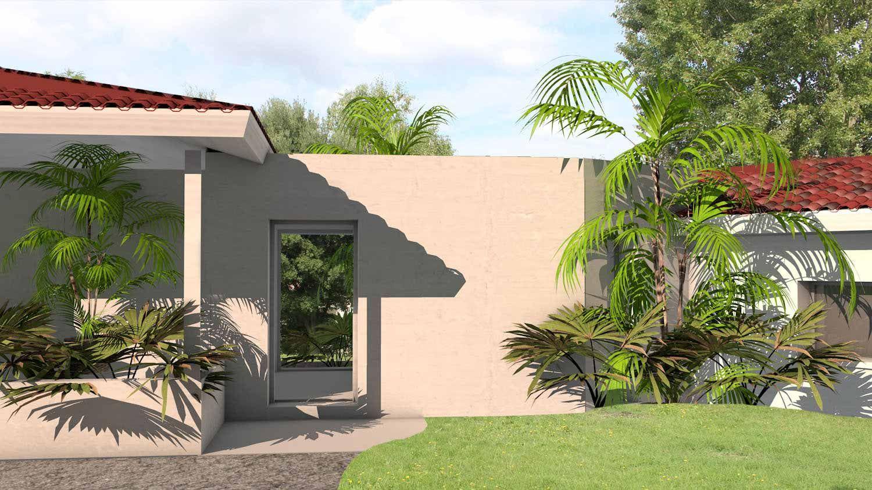 Atelier d 39 architecture scenario maison contemporaine d for Architecte jardin namur