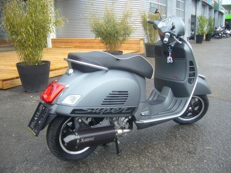vespa gts 300 abs asr supersport akrapovic umbau als. Black Bedroom Furniture Sets. Home Design Ideas