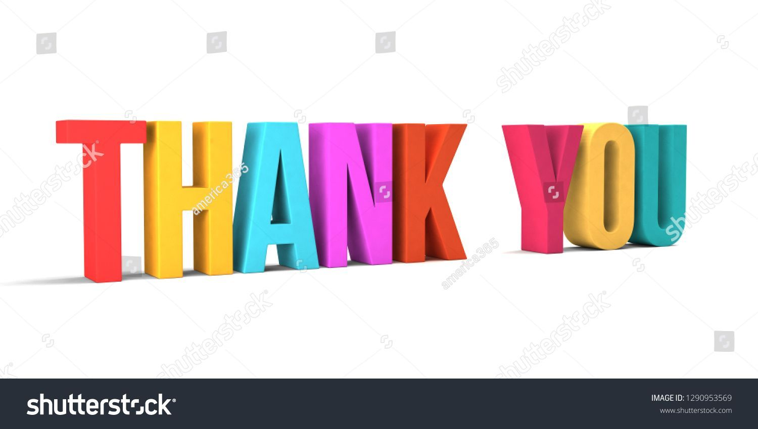 Thank You Word 3d Render Illustration In White Background Text Thank You Background Thankyou Card Greetin Illustration Logo Illustration Photo Editing