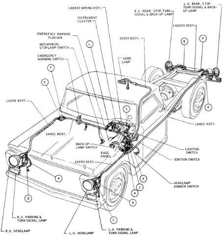 Ford Truck F 100 F 350 Wiring Diagram   Ford truck, Trucks ...