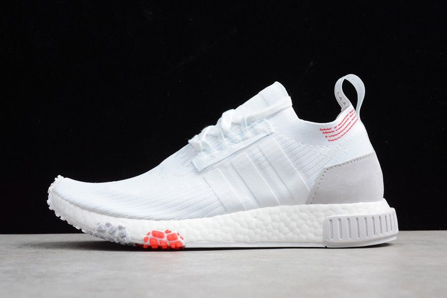 "9d9597091d322d 2018 adidas NMD Racer Primeknit ""Monaco"" White CQ2033 For Sale – New Yeezy  Boost"