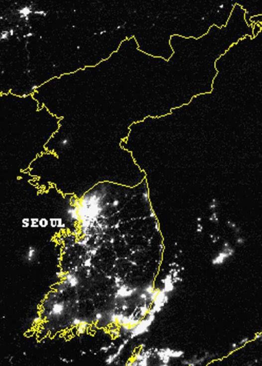 фото из космоса северной и южной кореи непостижимым образом роддоме