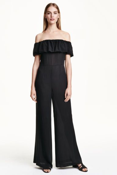 8bb32ccbed8 Off-the-shoulder jumpsuit