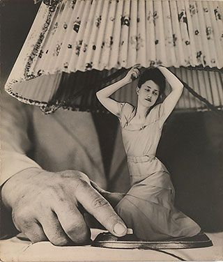"Grete Stern, ""Sueño No. 1: Articulos eléctricos para el hogar (Dream No. 1: Electrical Appliances for the Home)"" (1949) (image via metmuseum.org)"