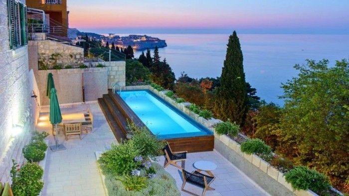 luxus pool noch tolle ideen für garten pools | luxuriöse designs, Garten und Bauten