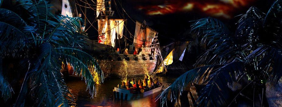 Pirates of the Caribbean | Attractions | Disneyland Paris ...