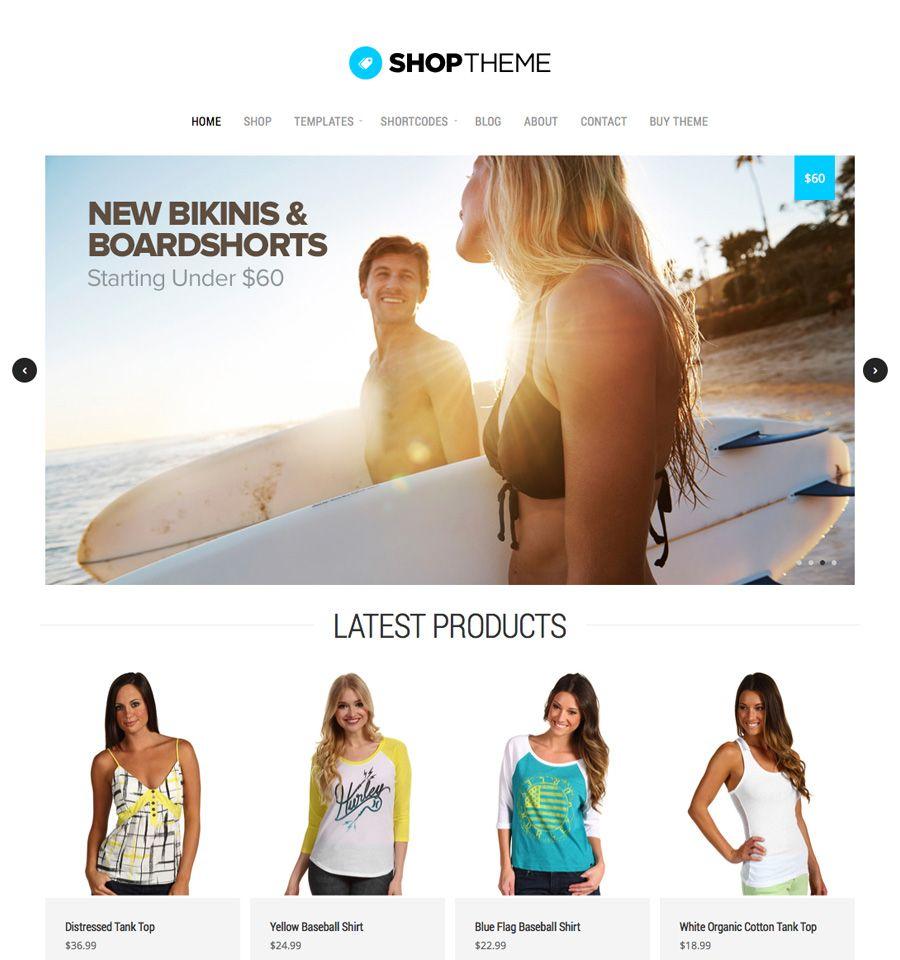 Shop Theme. Organic Themes is created by Invulu, Inc. · WordPress ...