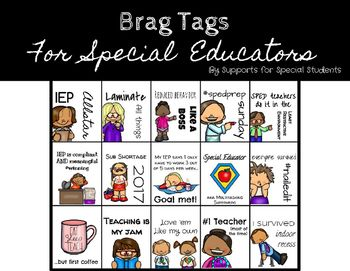 Reward Tags For Special Educators And Teachers Special Education
