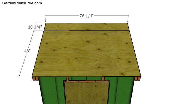6x8 Ice Shanty Plans