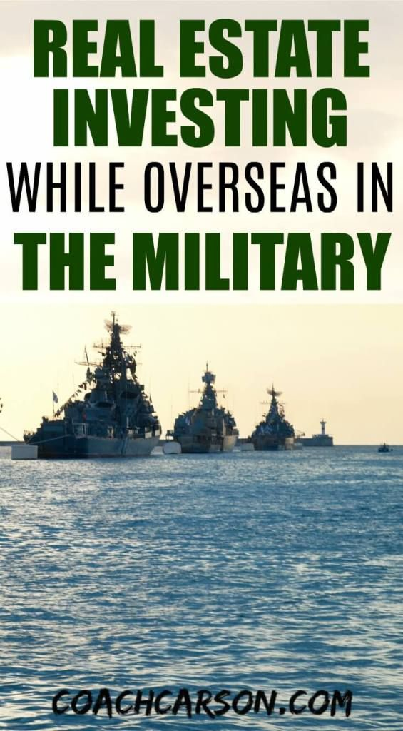 Real Estate Investing While Overseas in the Military Real estate