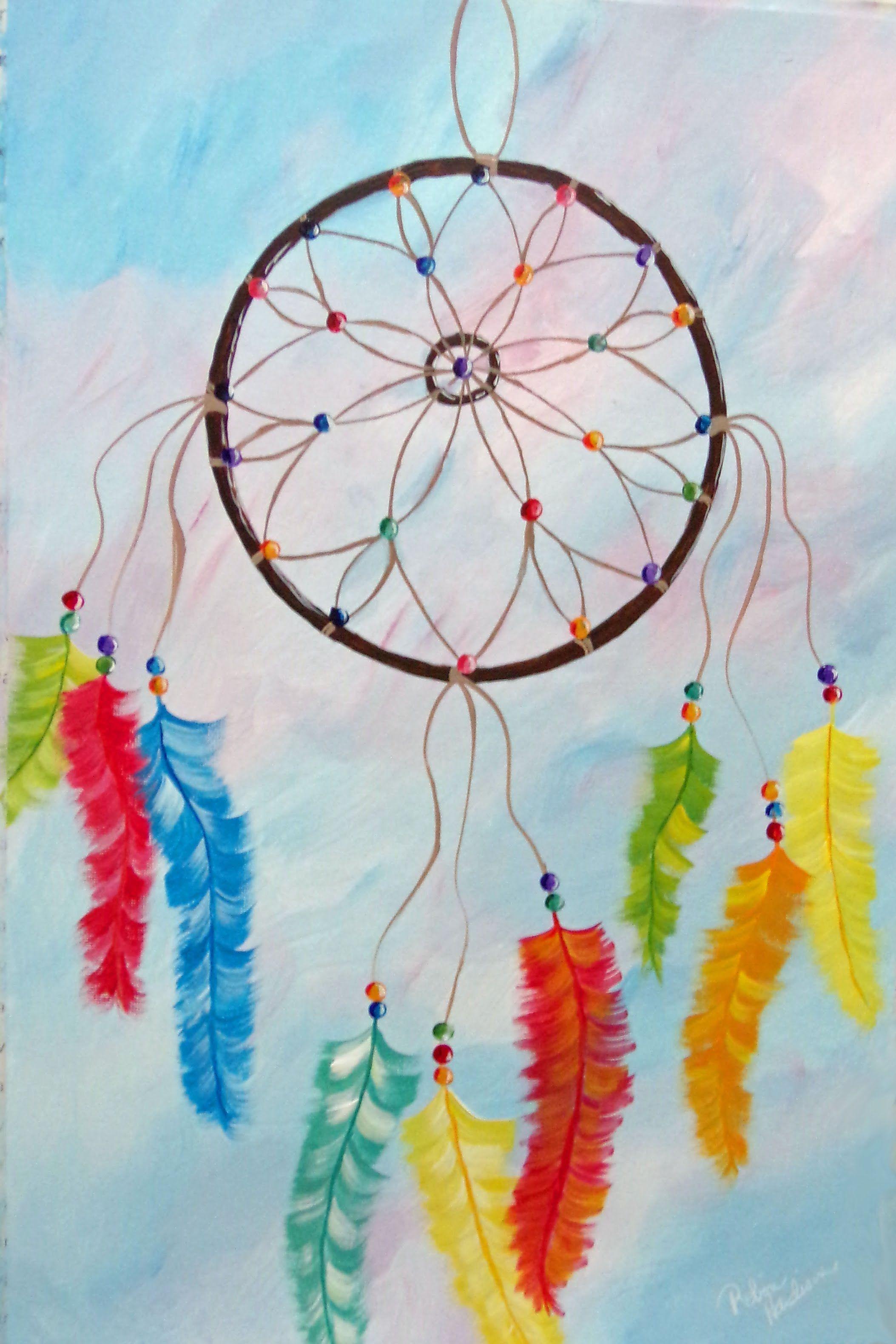 Dream Catcher Acrylic Painting : dream, catcher, acrylic, painting, Paint, Dream, Catcher, Length, Tutorial, Acrylic, Painting, Lesson, Painting,, Canvas, Tutorials,