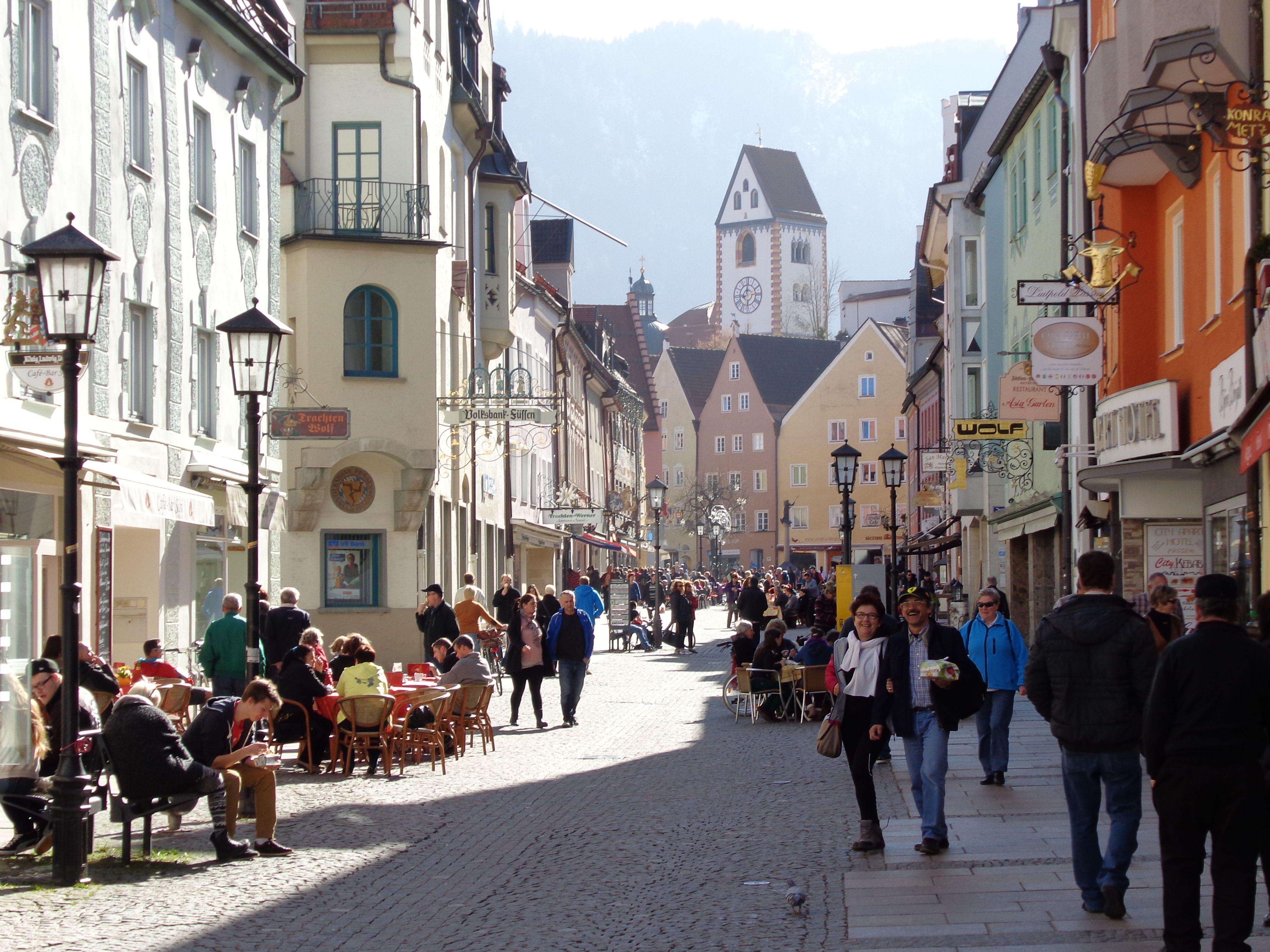 Innenstadt Füssen   Germany, Street view, Scenes