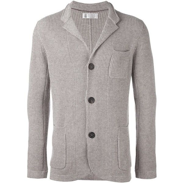 Brunello Cucinelli cashmere 'Fili' cardigan ($2,695) ❤ liked on ...