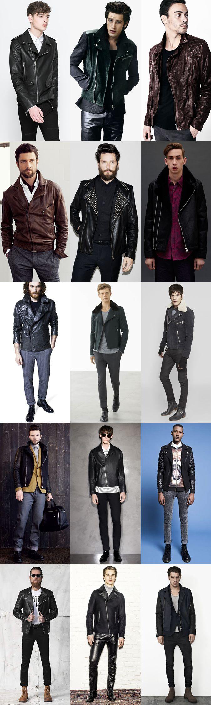d27a497d99f15 The Biker Jacket, Lookbook Inspiration. Leather Biker Jacket Biker Jacket  Outfit ...