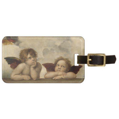 Raphael Angels Luggage Tag