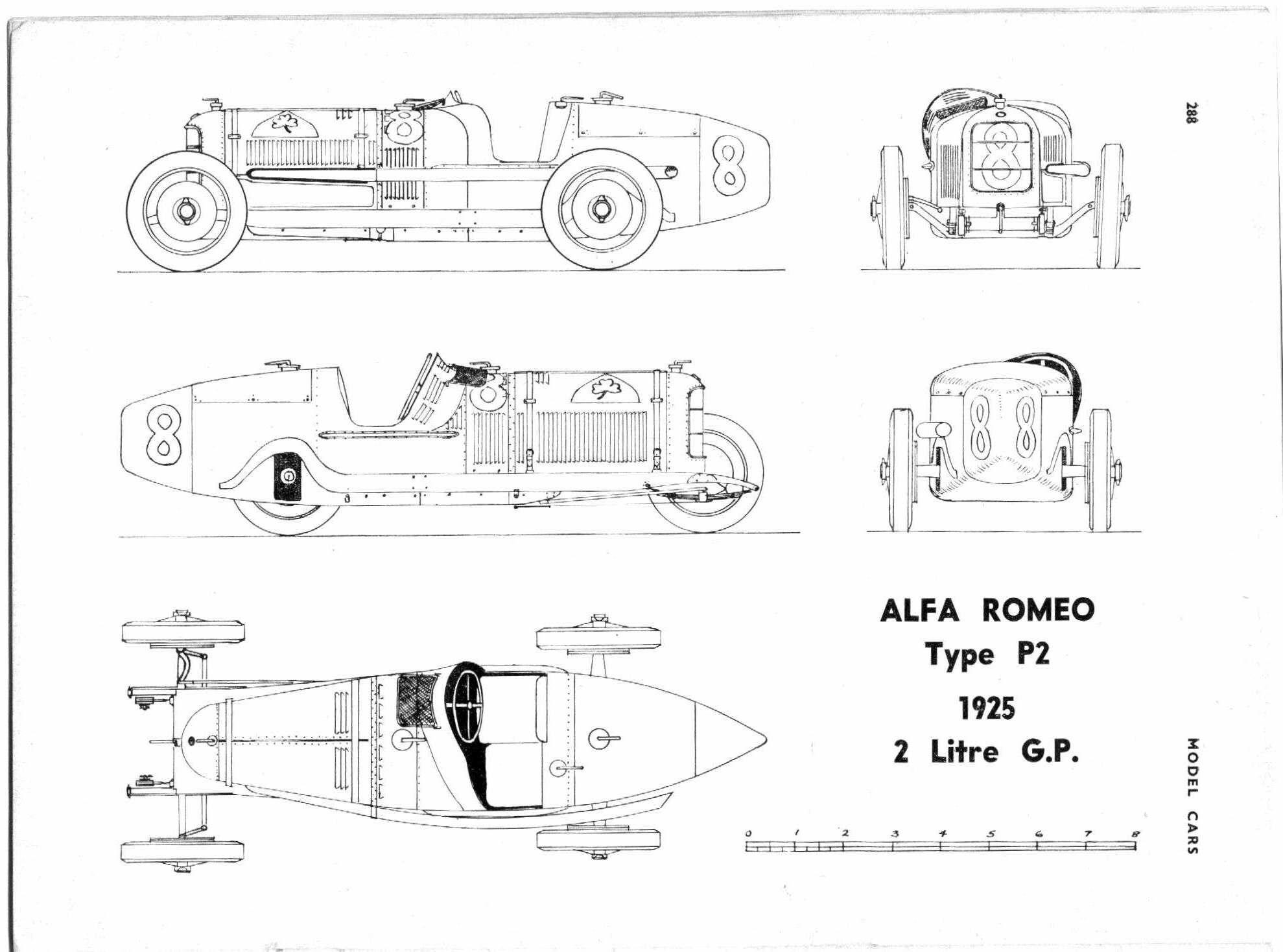 Alfa-Romeo P2 (Prototype parade №157)
