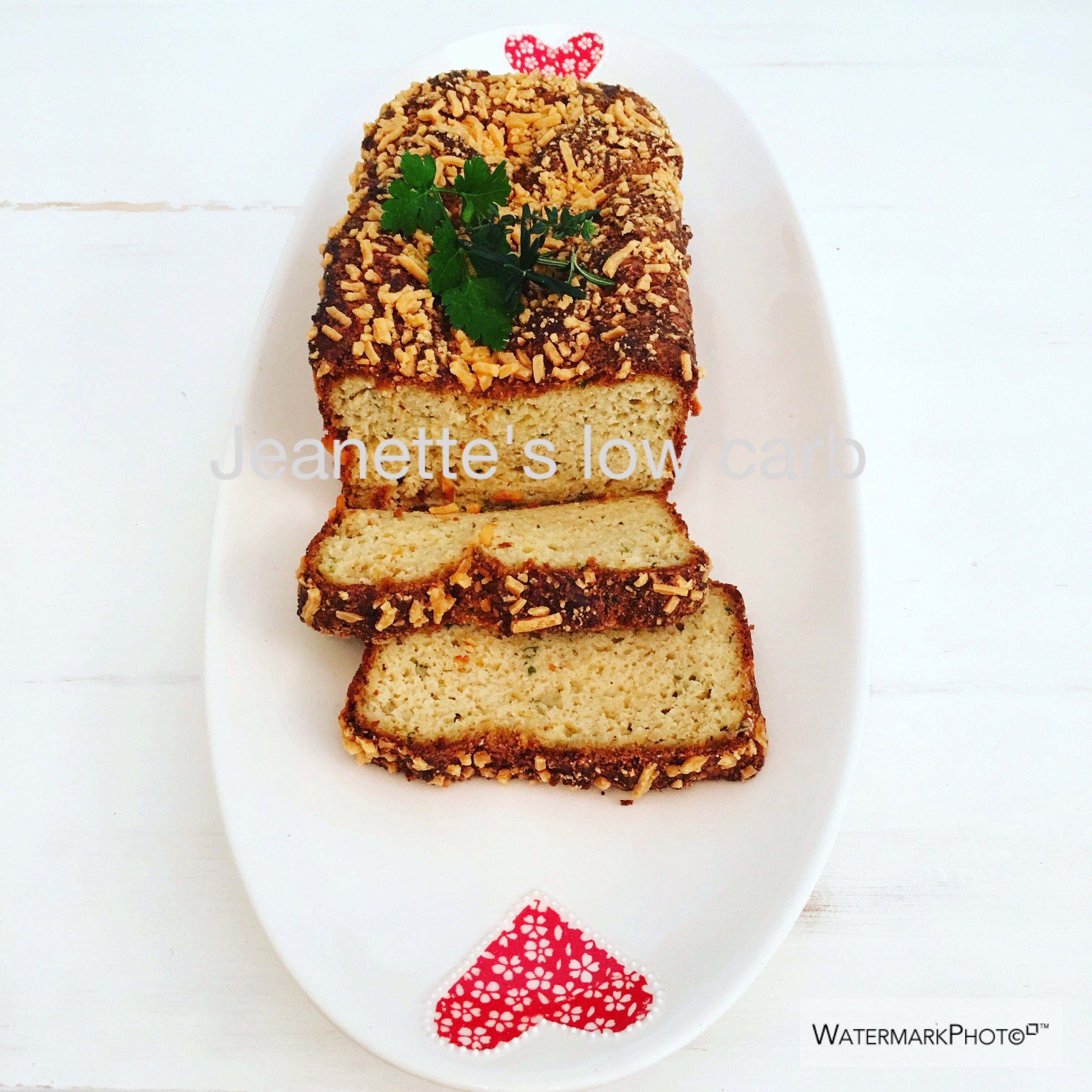Cheesy onion and herb buttermilk loaf low carb bread