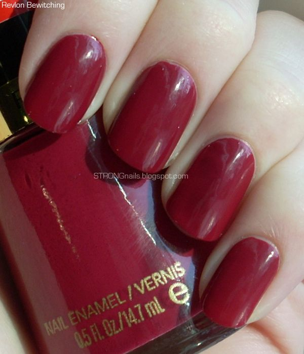 Chanel Nail Polish Cake: Revlon Bewitching (not To Be Confused With Bewitching