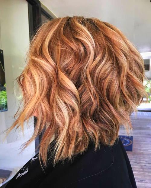 48++ Rote haare mit blonden spitzen Trends