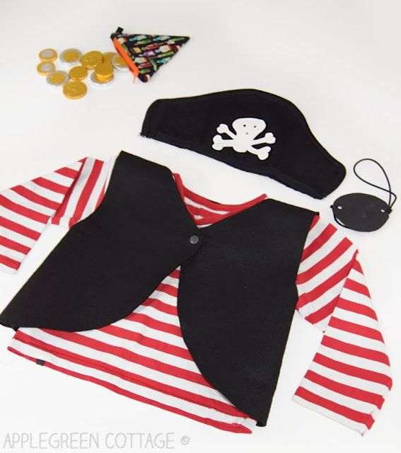 Diy Pirate Costume - Free Pattern #diypiratecostumeforkids