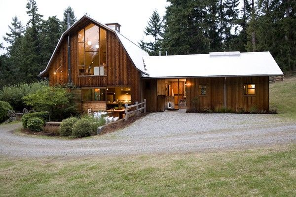 Converted Barn Home Rustic Farmhouse By Shed Architects Via Http Www Trendir Com House Design Conver Converted Barn Homes Modern Barn House Barn House Plans