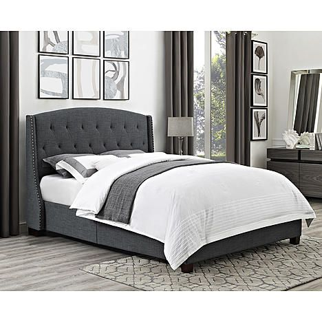 Dorel Living Olivia Upholstered Bed Multiple Colors And Sizes