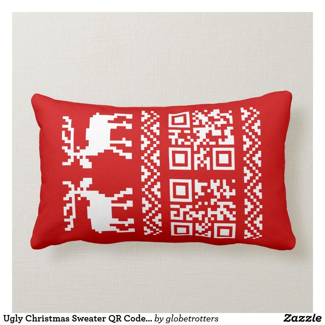 pin on ugly christmas pillows