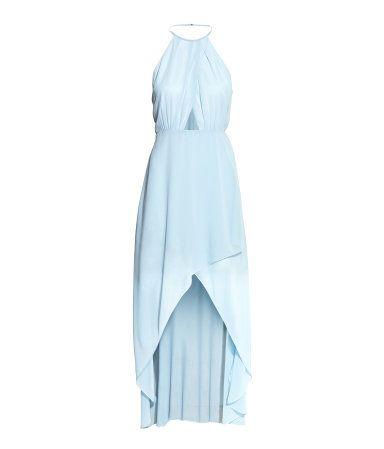 Wickelkleid | Hellblau | SALE | H&M DE | Modestil, Mode ...