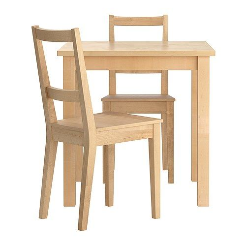 Pleasing Norden Bertil 29 1 8 Sq Table 2 Chairs 159 97 Solid Ibusinesslaw Wood Chair Design Ideas Ibusinesslaworg