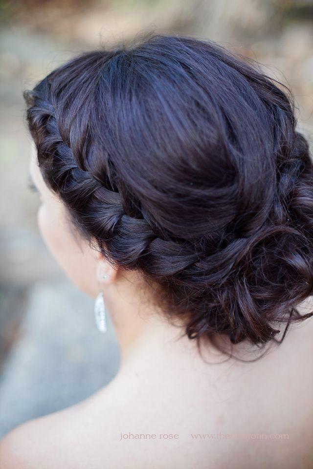 High School Prom Formal Hair. Braid into curls. Sunshine Coast QLD photographer: www.th… | High ...