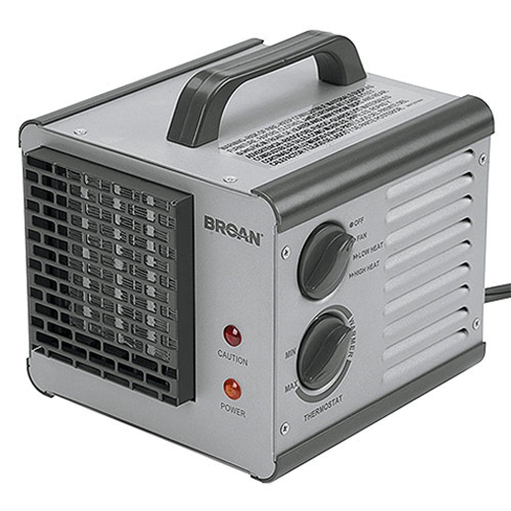 Broan Nutone 6201 Big Heat Portable Heater Portable Heater Broan Portable Electric Heaters