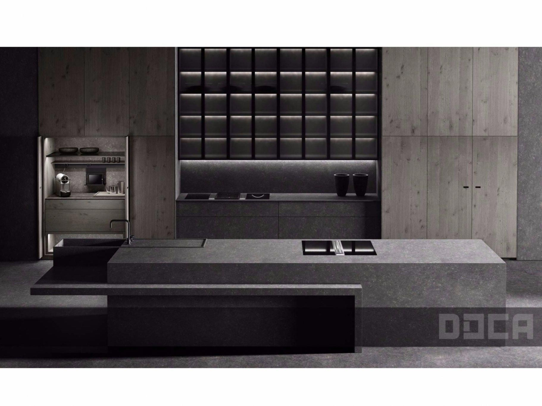 Download The Catalogue And Request Prices Of Luxury Stone Argus By Doca Kitchen With Island Luxurykitch Cuisine Contemporaine Cuisine Moderne Cuisines Design