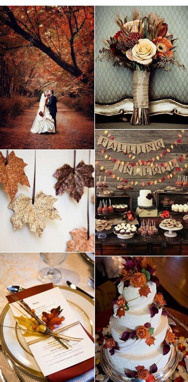 My Fall Wedding: 50+ Ideas para impresionantes decoraciones de boda vintage – Decoraciones para el hogar Más