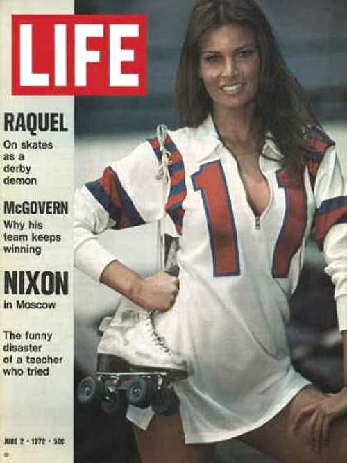 Raquel Welch on the cover ofLifemagazine, June 1972.