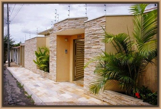 Fachadas de casas de una planta modernas pequenas casa for Fachadas modernas para casas pequenas de una planta