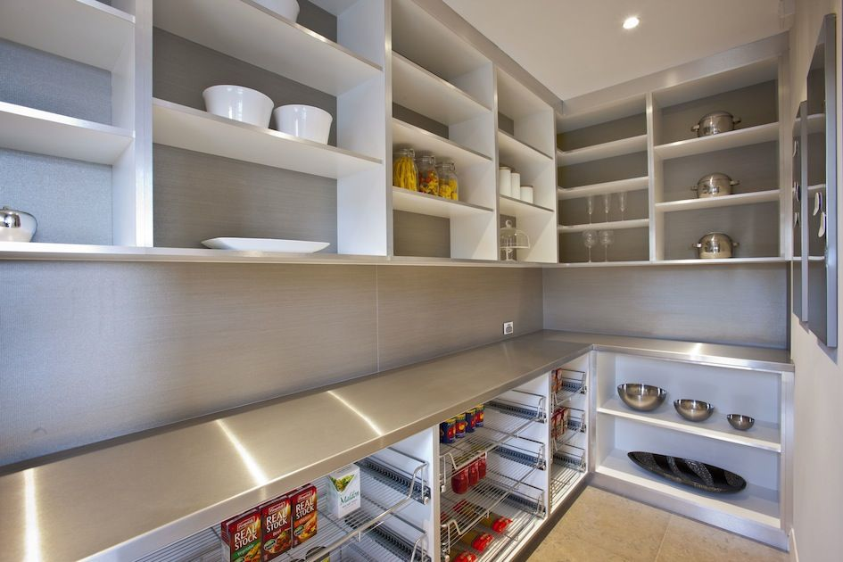 Kitchen scullery/pantry in The Riverstone Palais display