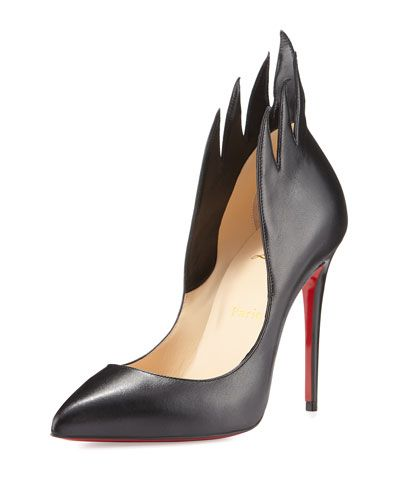 8960a7b88f5 CHRISTIAN LOUBOUTIN Victorina Flame 100Mm Red Sole Pump