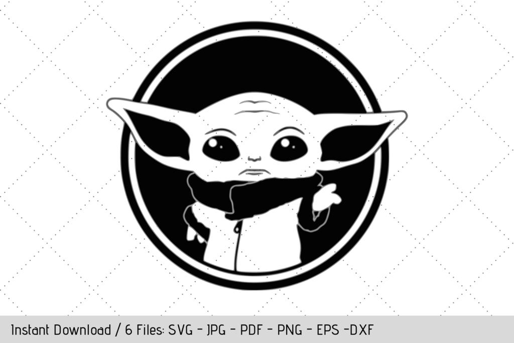 FREE Baby Yoda Mandalorian SVG Free baby stuff, Cricut, Free