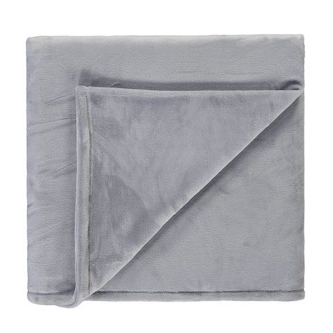 ce2eb74d376 Soft Touch Blanket - Double/Queen Bed, Grey in 2019 | Budget Decor ...