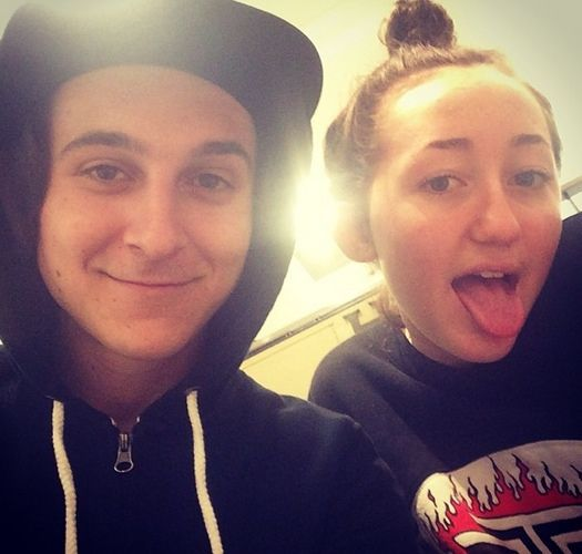 Miley Cyrus And Mitchel Musso 2014