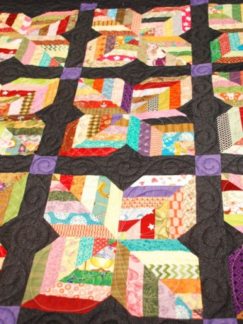 Maisy Daisy - Easy Scrappy Lap Quilt Pattern (Beautiful Skills ... : patterns for lap quilts - Adamdwight.com