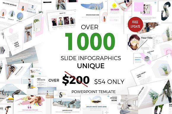 1000 slide presentation sale of Presentation templates - powerpoint infographic template